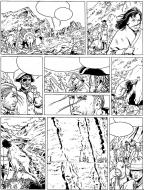 BARBE ROUGE Issue 32 original comic page 22