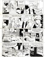 Original comic page 42 from Jérôme k. Jérôme Bloche issue 26 by Alain DODIER
