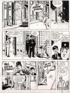 Original comic page 35 from Jérôme K. Jérôme Bloche Issue 2 by Alain DODIER