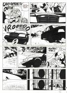 Original comic page 22 from Jérôme K. Jérôme Bloche Issue 10 by Alain DODIER