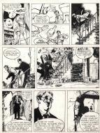 Original comic page 29 from Jérôme K. Jérôme Bloche Issue 2 by Alain DODIER