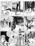 Original comic page 41 from Jérôme K. Jérôme Bloche Issue 2 by Alain DODIER