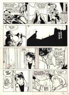 Original comic page 5 from Jérôme K. Jérôme Bloche Issue 11 by Alain DODIER