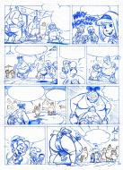 Original comic page 20 from La Ribambelle, Issue 8 - La Ribambelle au Japon by KRINGS