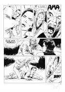 Original comic page 82 of LE TEMPS DES SAUVAGES by Sébastien GOETHALS