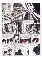 Pierre MAKYO's original comic art THE HEART IN ISLAND Issue 2 original page 35.