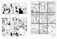 Original comic Page 3  Issue  71 Renaissance issue 5 new season Michel VAILLANT by Marc Bourgne
