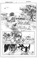 Original comic art 1 from Spiderman Fairy Tales Issue 2 by NIKO HENRICHON