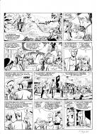 Bande Dessinée : Eddy Paape's LUC ORIENT original comic page 39 issue 1