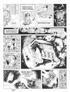 Original comic page 52 of SASMIRA Issue 2 by Claude PELET