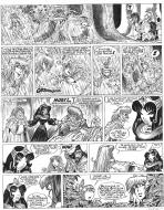 Original  comic page 30 Issue 15 from Percevan Le huitième royaume by Philippe LUGUY