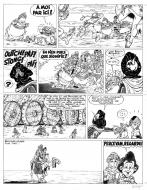 Original comic page 31 Issue 5 Percevan Le sablier d'el jerada  by Philippe LUGUY
