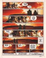 Original comic page 2 from RAOUL FULGUREX Issue 3 Les mutinés de la révolte by Dominique GELLI