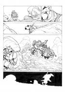 SOLO Original comic's page 27 Issue 2 by Oscar MARTIN