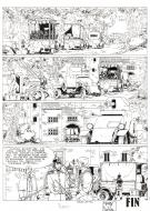 Bande Dessinée : Original comic page 45 from IAN KALEDINE, Issue 8 by FERRY