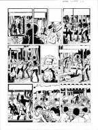 Original comic page 42 of Lefranc Issu 9 - La Crypte by Gilles Chaillet