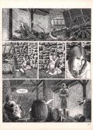 Original comic page 10 of Solitudes by Michel RIU