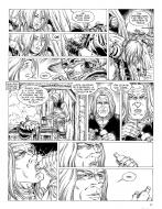 Original comic page 28 from DURANGO, Issue 7 - Loneville by Yves SWOLFS