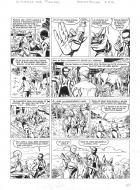 Original comic page 29 from BARBE ROUGE - Issue 31. La guerre des pirates