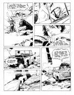 Original Comic page 3 from LA SURVIVANTE Issue 1 by Paul GILLON