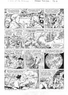 Original comic page 33 from BARBE ROUGE - Issue  30. L'or et la gloire