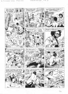 Original comic page 33 from BARBE ROUGE - Issue 31. La guerre des pirates