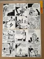 Original comic page 35 from MARC DACIER - Issue 3