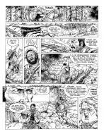 Original comic page 39 from DURANGO, Issue 9 - L'or de Duncan by Yves SWOLFS