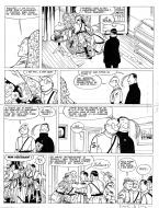 Bande Dessinée : Original comic page 45 from Theodore Poussin issue 5 part 2 by Frank LE GALL