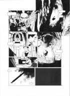 Original comic 54 Issue 3 from Sanctuaire, Môth  by Christophe BEC
