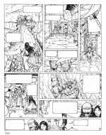 Original comic Page 7, Issue 5 from Le vent des dieux by Philippe ADAMOV
