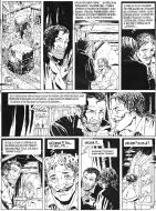 Original comic art 6 of DECALOGUE by Lucien ROLLIN