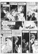 Original comic art 8 of the DECALOGUE by Lucien ROLLIN