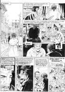 Original comic art 8 of DECALOGUE by Lucien ROLLIN