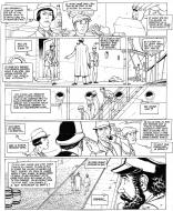 Planche originale 14 de Harry Dickson tome 8 Le sanctuaire du grand ancien