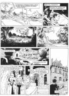 Original comic art from LA BETE DE L'APOCALYPSE page 39