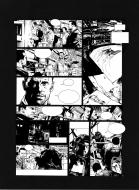 Original comic page 45 Issue 2 from Sanctuaire, Le puits des abîmes by Christophe BEC