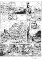 Original comic art 9 of SHANE issue 4 Albane by Paul TENG