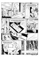 Original comic page 22  Issue 2 by Patrick Henaff