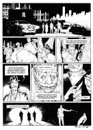 Original comic page 51 Issue 3 by Patrick Henaff