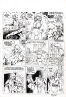 Original comic page 39 from ARIA by Michel WEYLAND