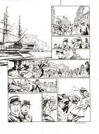 Original page 27 from LAOWAI Issue 1.  La guerre de l'opium by Xavier BESSE