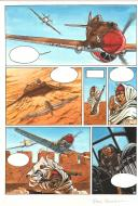 Original page 3 issu 1 of the FAUCON DU DESERT: Martuba Airfield by Franz Zumstein