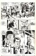 Bande Dessinée : Original comic page 2 from The Persuaders - Le manoir du Nirvana - by MARCELLO
