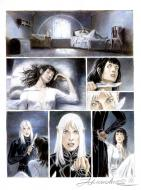 ARINOUCHKINE's original comic art from ILLEIN original page 39.