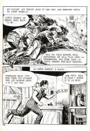 Robert LEGUAY's original comic art BUCK JOHN page 12