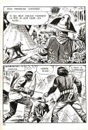 Robert LEGUAY's original comic art BUCK JOHN page 14
