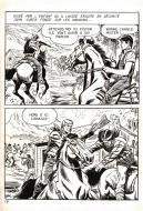 Robert LEGUAY's original comic art BUCK JOHN page 17