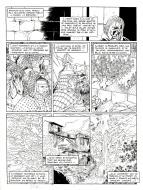 Original comic page from Le Vent Des Dieux by GIOUX issue 14 page 25.