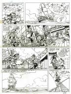 SANDRON's original comic art GODAILLE AND GODASSE Issue 3 original page 16.